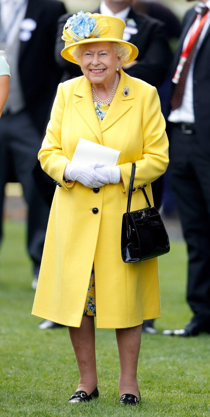 """<p>The Queen's gloves <a href=""""https://www.goodhousekeeping.com/beauty/fashion/a21614498/why-queen-elizabeth-wears-gloves/"""" rel=""""nofollow noopener"""" target=""""_blank"""" data-ylk=""""slk:have two hidden purposes"""" class=""""link rapid-noclick-resp"""">have two hidden purposes</a>, Genevieve James, creative director of Cornelia James, told GoodHousekeeping.com. The company has supplied the Queen's pairs for more than 70 years. </p>"""