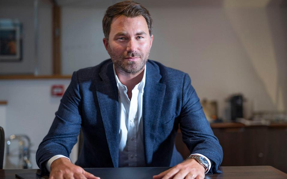 Matchroom Boxing and DAZN announce 'game-changing' broadcast partnership - David Rose