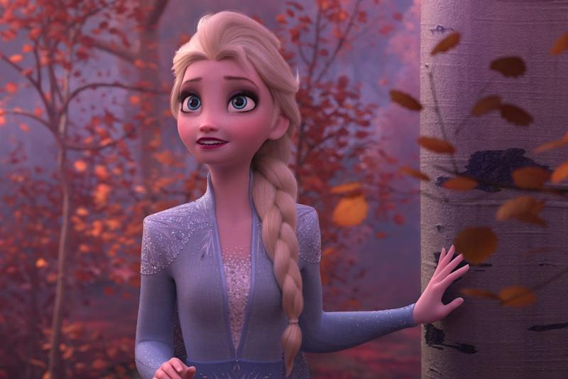 Elsa in Frozen 2 (Credit: Disney)