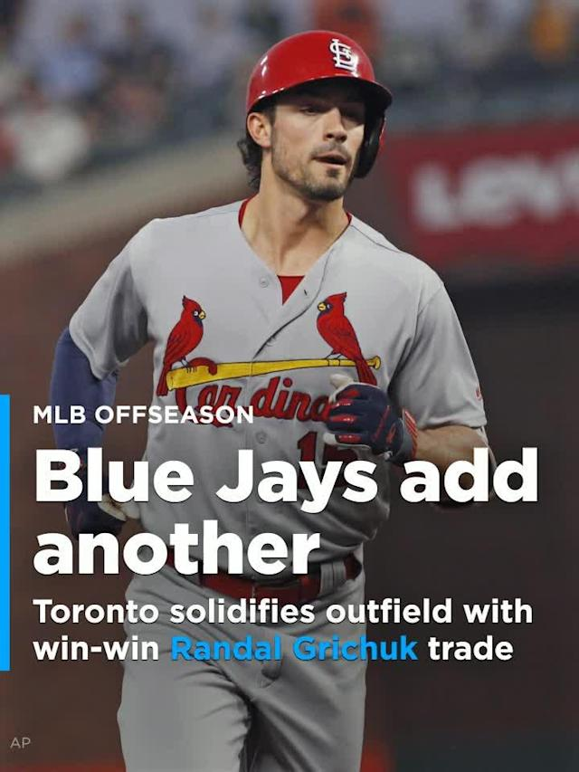 When the club traded for Randal Grichuk on Friday afternoon they checked all five of their boxes.