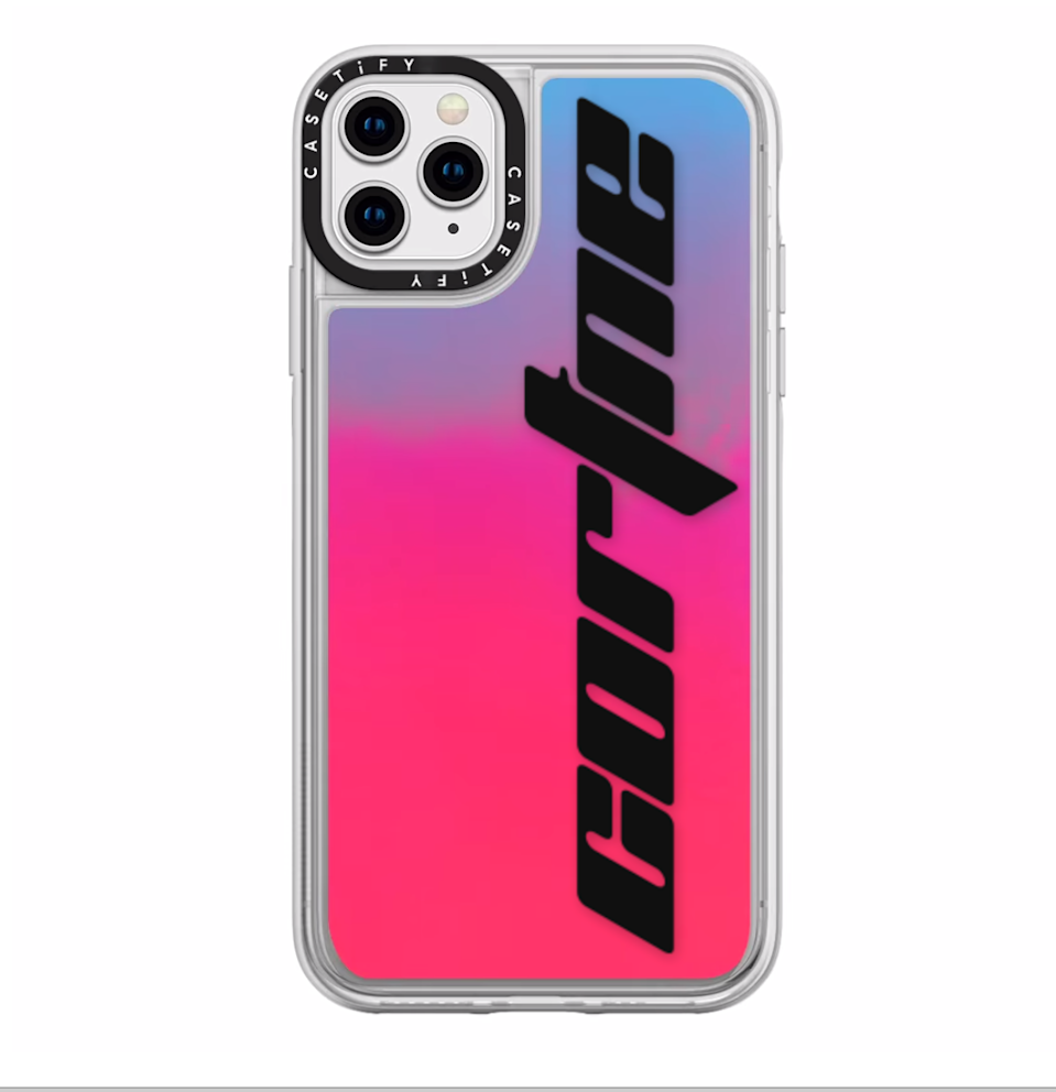 """<h3>Casetify Custom Neon Sand Liquid iPhone Case</h3><br>Your significant other won't be losing this at the bottom of their bag. <br><br><em>Shop </em><a href=""""https://www.casetify.com/"""" rel=""""nofollow noopener"""" target=""""_blank"""" data-ylk=""""slk:Casetify"""" class=""""link rapid-noclick-resp""""><em><strong>Casetify</strong></em></a><br><br><strong>Casetify</strong> Custom Neon Sand Liquid iPhone Case, $, available at <a href=""""https://go.skimresources.com/?id=30283X879131&url=https%3A%2F%2Fwww.casetify.com%2Fproduct%2Fphone-case-customization%2Fiphone11-pro-max%2Fneon-sand-liquid-case"""" rel=""""nofollow noopener"""" target=""""_blank"""" data-ylk=""""slk:Casetify"""" class=""""link rapid-noclick-resp"""">Casetify</a>"""