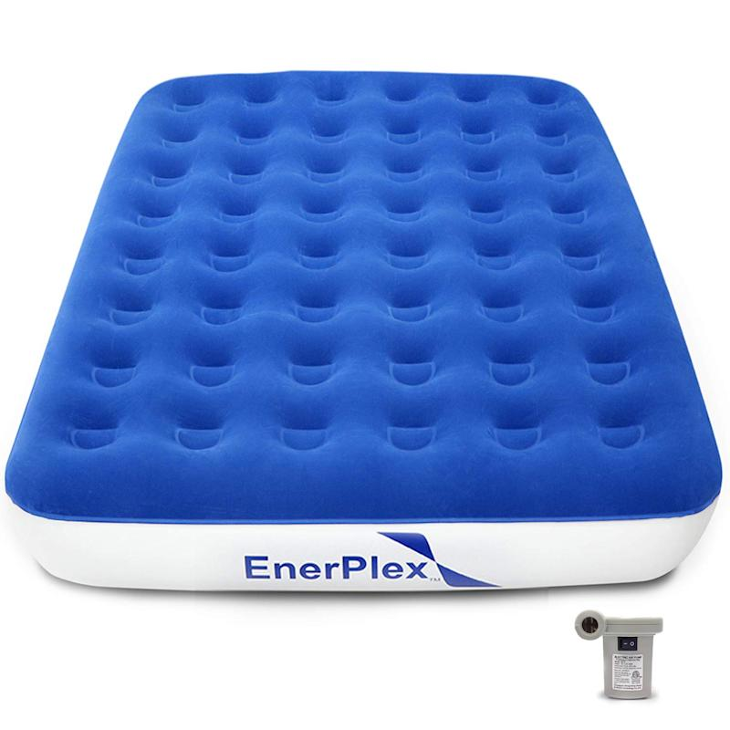EnerPlex Never-Leak Camping Series Queen Camping Airbed. (Photo: Amazon)