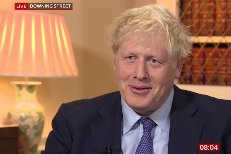 Boris Johnson on BBC Breakfast (BBC)