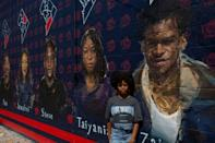 Lauryn Renford, now 17, was the driving force behind a Washington DC mural in memory of five African-American teens killed in gun violence