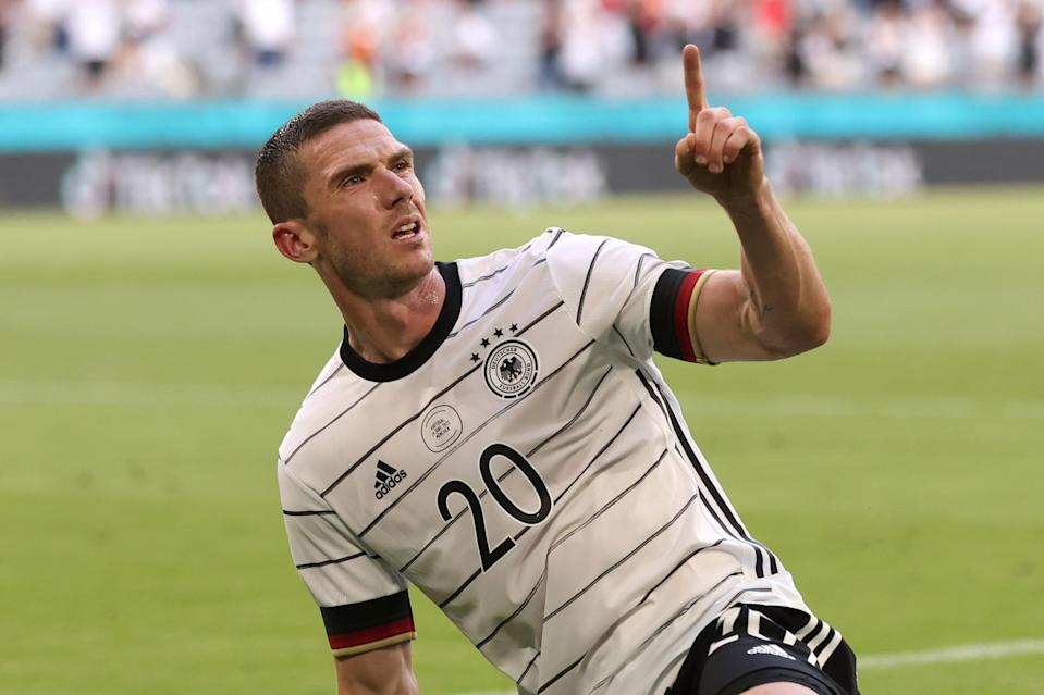 Robin Gosens gave a fantastic, man-of-the-match display for Germany against Portugal at Euro 2020 (Getty Images)