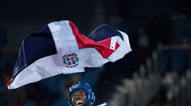 <p>Heiner Oviedo of Costa Rica during the men's -58 kg at the Olympics in Rio de Janeiro, Brazil.</p>