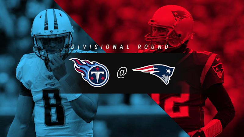 Titans vs. Patriots: Score, results, highlights from divisional playoff game in New England