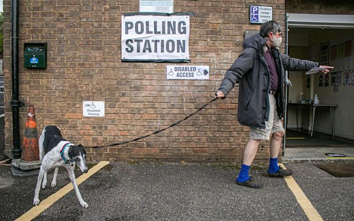 covid rules polling station coronavirus restrictions what expect local elections 2021 - Amer Ghazzal/Shutterstock