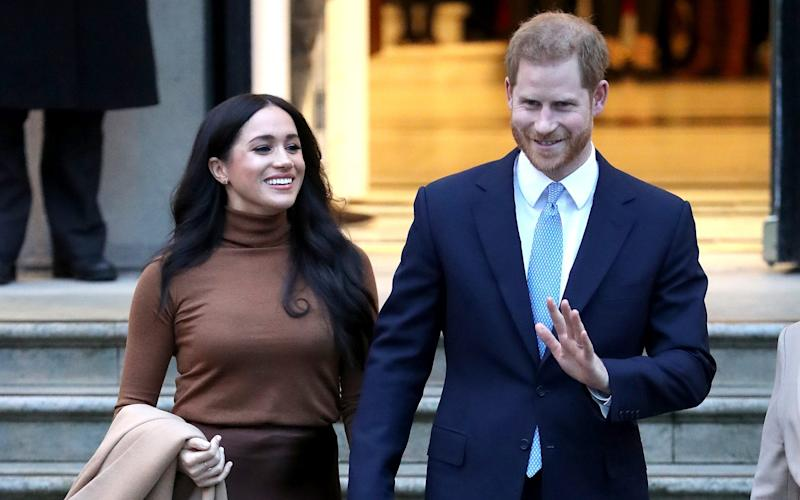 Harry and Meghan's security cost Canadians over £30k during first half of their stay