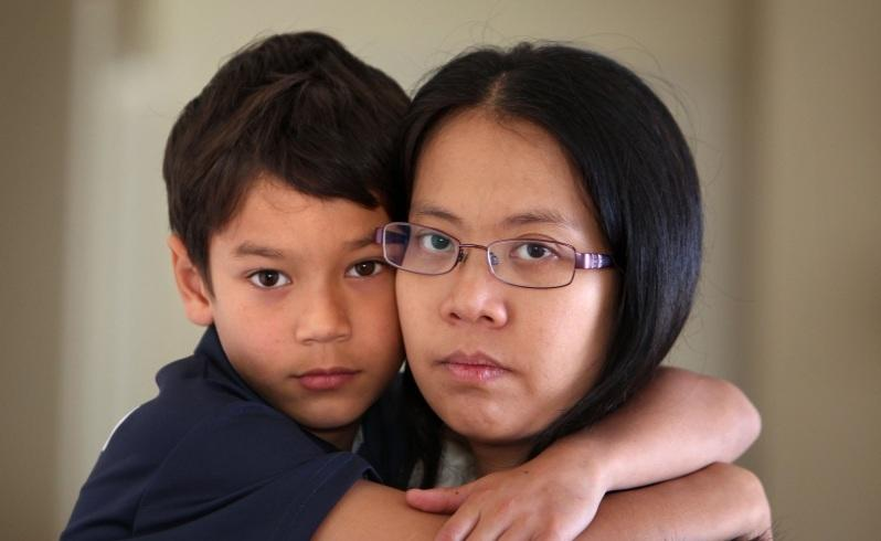 Family denied stay over sons cancer