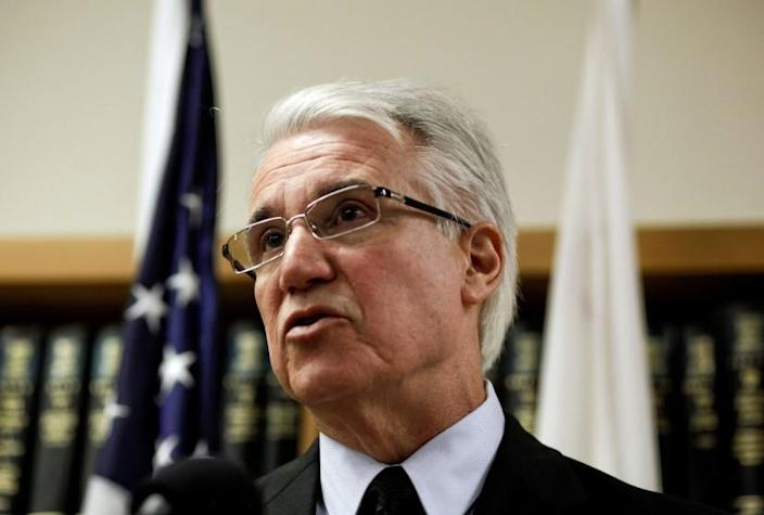 San Francisco Dist. Atty. George Gascon, seen in 2012, said Thursday that five more city police officers were found to have sent offensive text messages -- some of them after a similar scandal broke last year.
