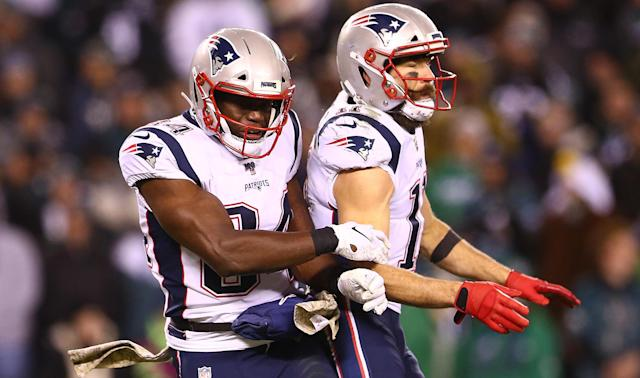 The New England Patriots needed 17 unanswered points to get past the Philadelphia Eagles in the NFL.
