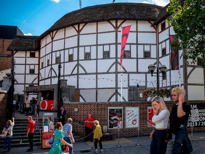 Shakespeare's Globe will open again this summerAFP via Getty Images