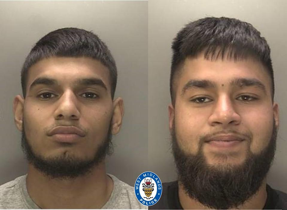 Police want to speak to Ishaaq Ayaz (L)  and Sohail Khan. (Police~)