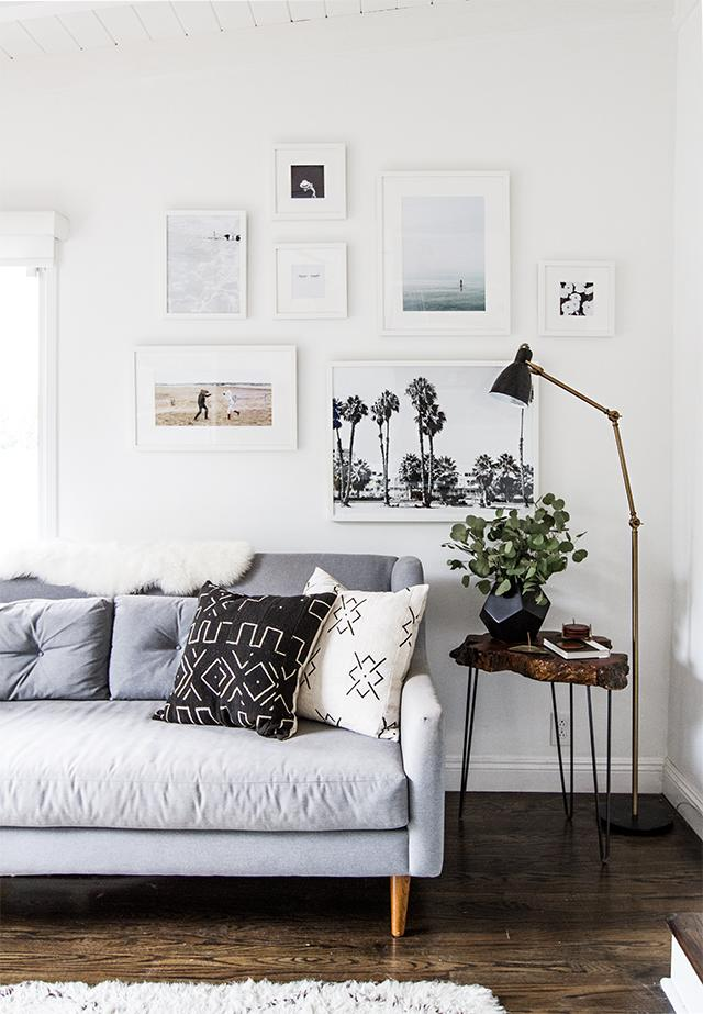 "Look hard at wall art and photos: Anything you don't love, take down stat, suggests decluttering guru <strong>Erin Rooney Doland</strong> in her book <em><a rel=""nofollow"" href=""http://www.amazon.com/gp/product/B00Z751CDC/ref=dp-kindle-redirect?ie=UTF8&btkr=1"">Never Too Busy to Cure Clutter: Simplify Your Life One Minute at a Time.</a></em>  Photo: <a rel=""nofollow"" href=""http://sarahshermansamuel.com/stories/page/11/"">Sarah Sherman Samuel</a>"