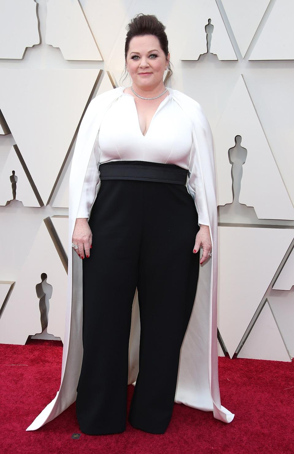 Melissa McCarthy arrives at the 91st Annual Academy Awards on Feb. 24, 2019, in Hollywood, California. (Photo: Dan MacMedan/Getty Images)