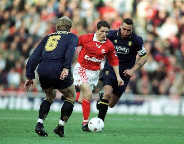 Juninho during his first spell with Middlesbrough (Owen Humphreys/PA).