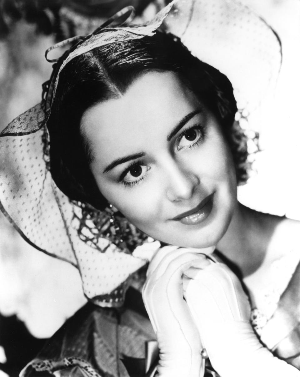 De Havilland played Melanie in <em>Gone with the Wind</em>. (Photo: Donaldson Collection/Getty Images)