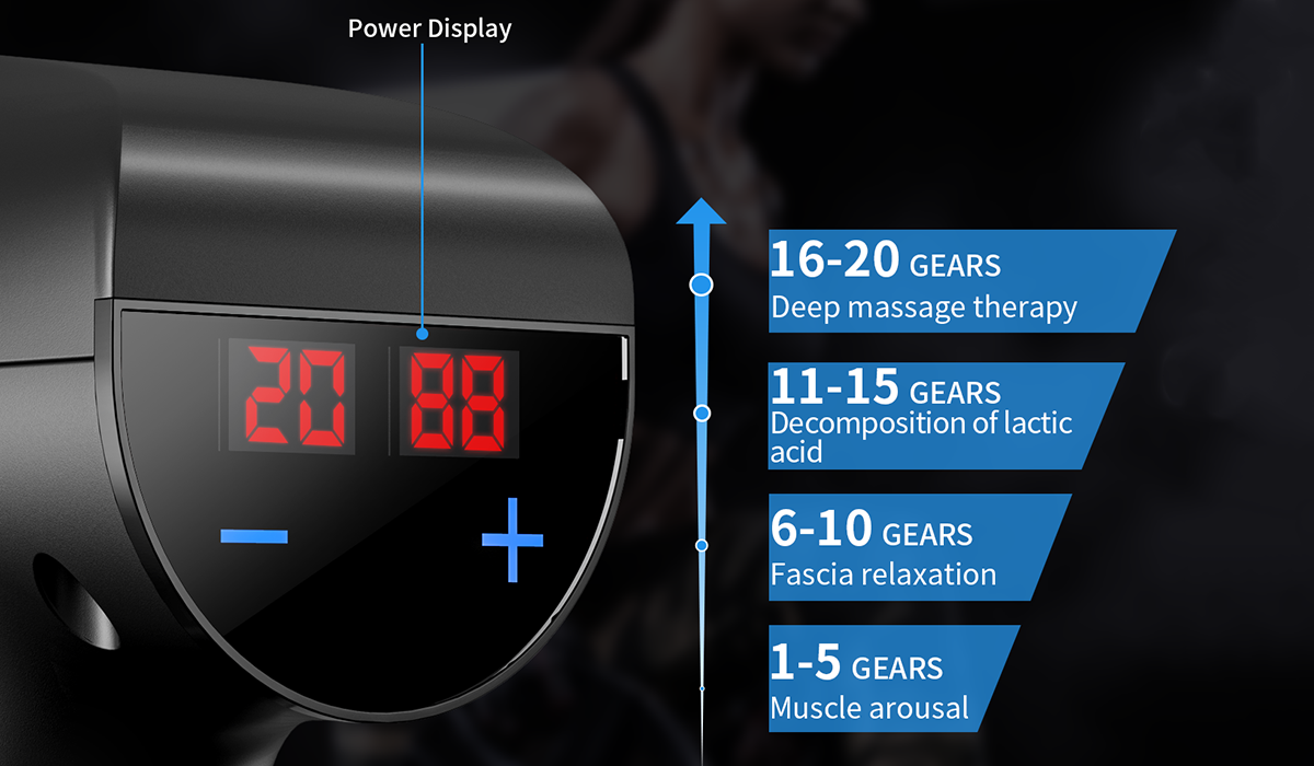 Let's run the numbers: Six massage heads, 20 power levels, three-hour battery life ... just $44. (Photo: Walmart)