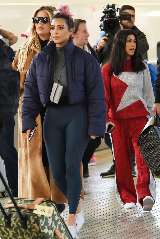 a176c7a21dc5c Kim Kardashian Rocks Another Spandex Look in Tokyo During Outing ...