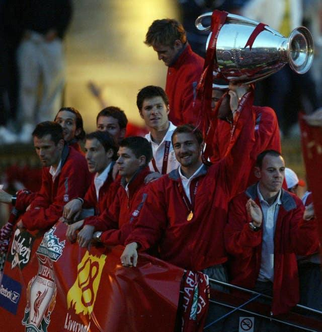 Istanbul hosted Liverpool's memorable Champions League final win over AC Milan in 2005