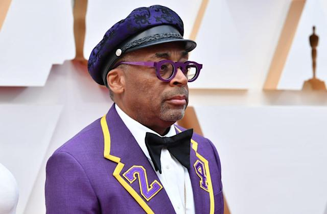 Spike Lee honors Kobe Bryant with a custom suit for Oscars 2020