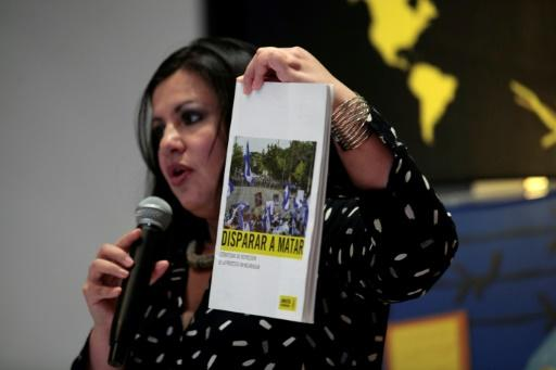 Amnesty International Director for the Americas Erika Guevara details a report on repression used by Nicaraguan security forces during clashes with demonstrators, mostly students