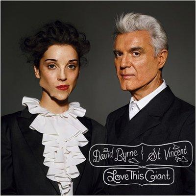 7. David Byrne and St. Vincent, Love This Giant - There is an argument for taking the boomerang-shaped jawbreaker out of your mouth before the photographer says cheese. Or, she could have at least offered one to Byrne to make the photo symmetrical… although the giant cleft in the Talking Head's chin does almost provide a sense of freakish balance.