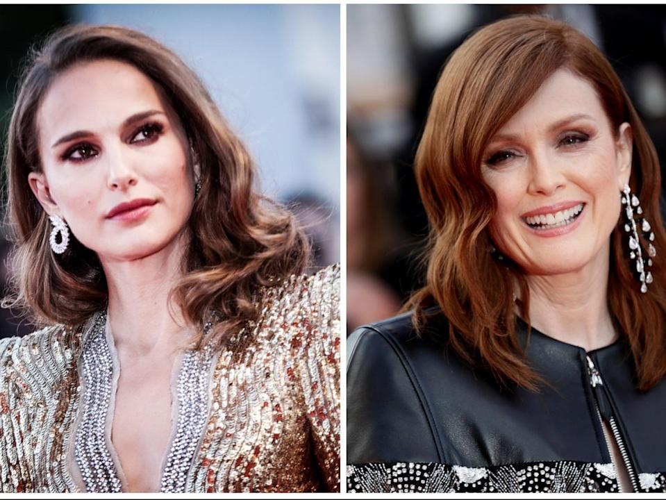 Natalie Portman and Julianne Moore are starring in a new film together (Getty)