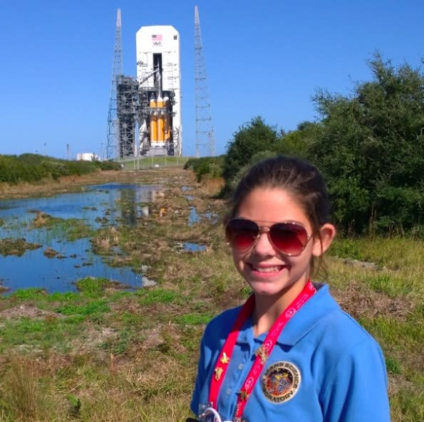 This teenage girl is training to go to Mars and it's absolutely amazing