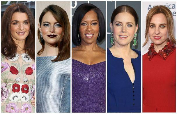 PHOTO: Best supporting actress Oscar nominees for the 91st annual Academy Awards, from left, Rachel Weisz, Emma Stone, Regina King, Amy Adams and Marina de Tavira. (Reuters, Getty Images)