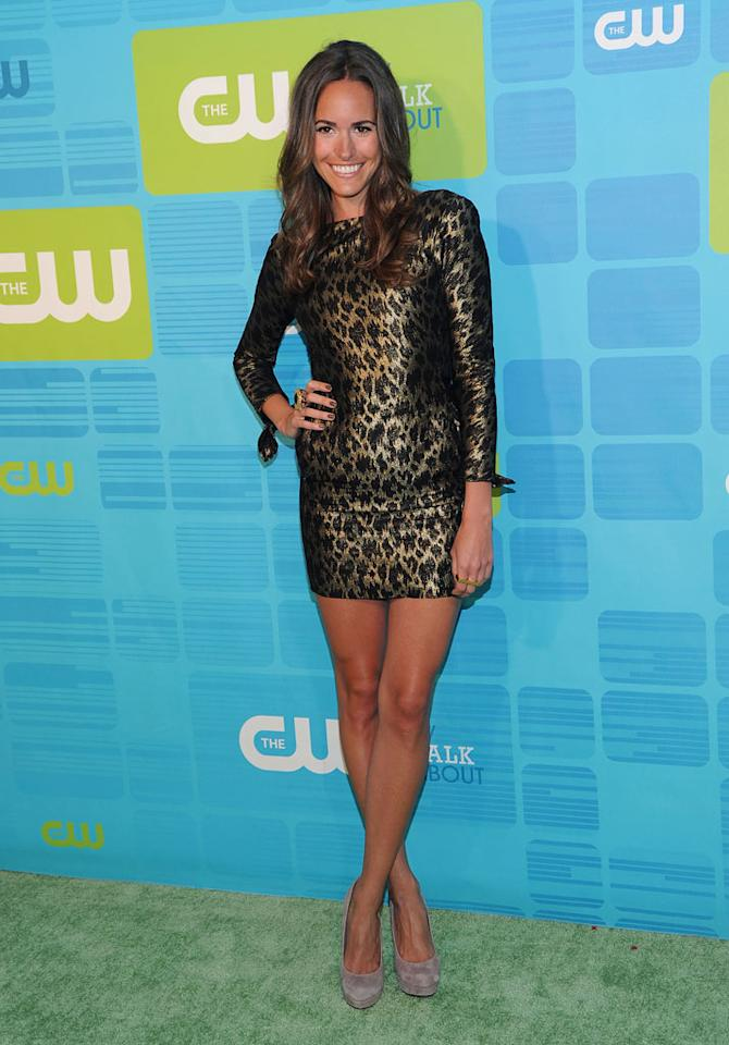 """Louise Roe (""""<a href=""""/plain-jane/show/46565"""">Plain Jane</a>"""") attends the 2010 The CW Upfront at Madison Square Garden on May 20, 2010 in New York City."""
