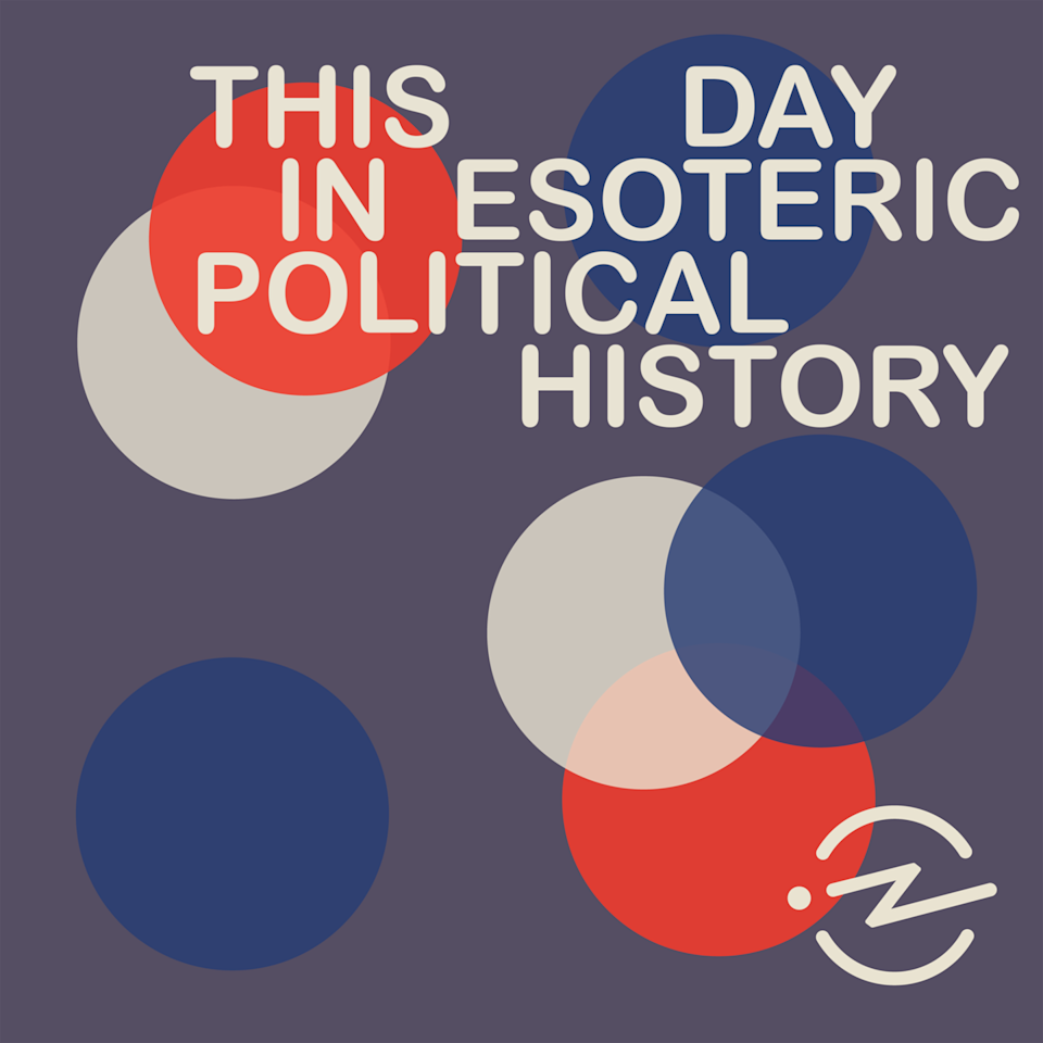 """<p>In politics, the past often dictates the future, and it makes sense that in an unprecedented era of government, the stories that tell us how we got here are ones we may not have heard before. <em>This Day in Esoteric Political History</em>, hosted by journalist Jody Avrigan and historian Nicole Hammer, connects the dots by recalling events like Nikita Khrushchev's 1959 visit to New York, the inception of the phrase """"state's rights,"""" and the bizarre theory that says if <em>Star Trek: Voyager </em>wasn't made, then President Barack Obama wouldn't have made it to office.</p><p><a class=""""link rapid-noclick-resp"""" href=""""https://podcasts.apple.com/us/podcast/this-day-in-esoteric-political-history/id1502728938"""" rel=""""nofollow noopener"""" target=""""_blank"""" data-ylk=""""slk:LISTEN NOW"""">LISTEN NOW</a></p>"""