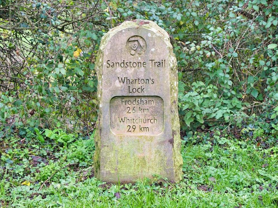 Frodsham marks one end of the Sandstone Trail (Getty Images)