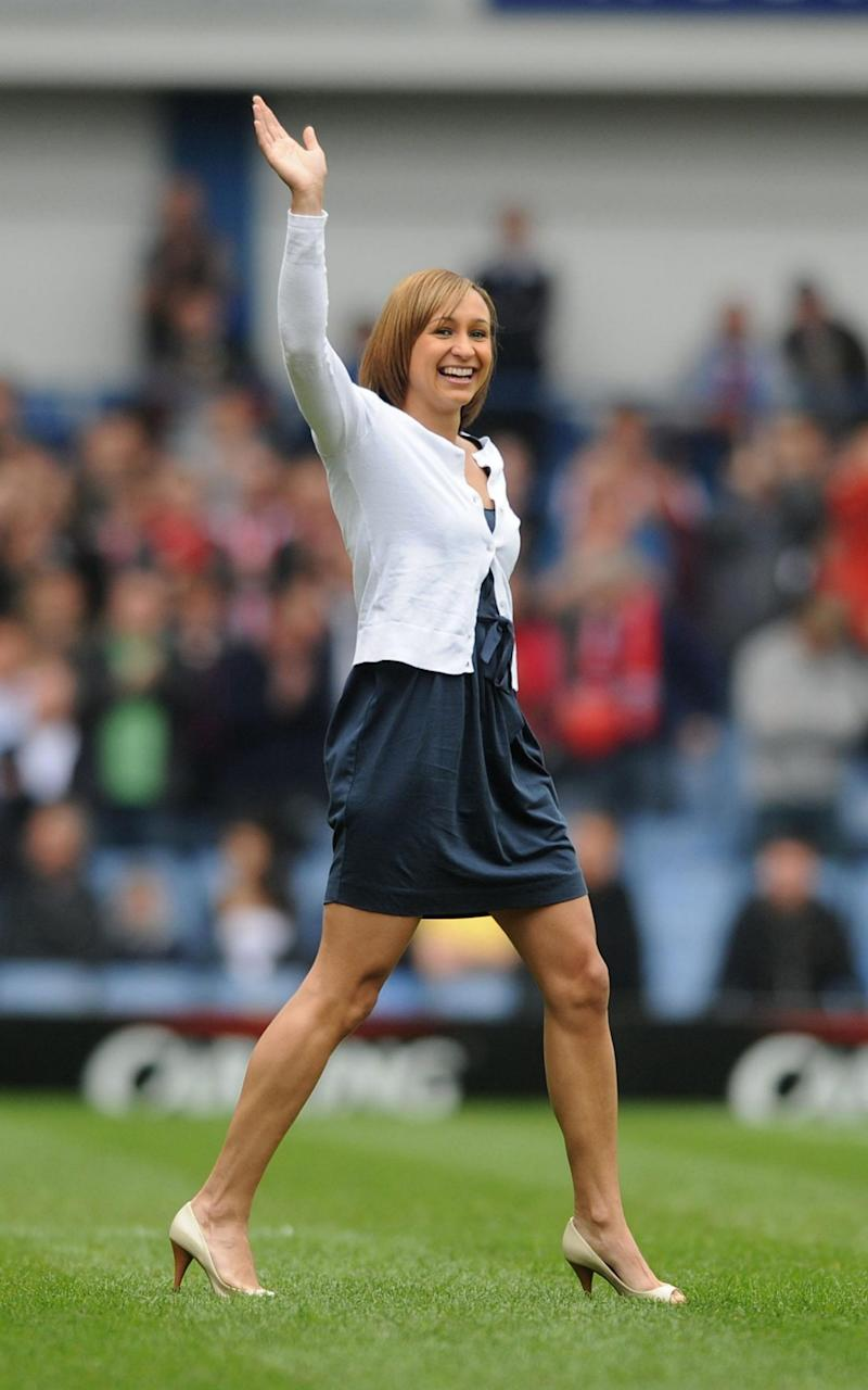 Jessica Ennis-Hill is a life long Sheffield United fan - Credit: PA