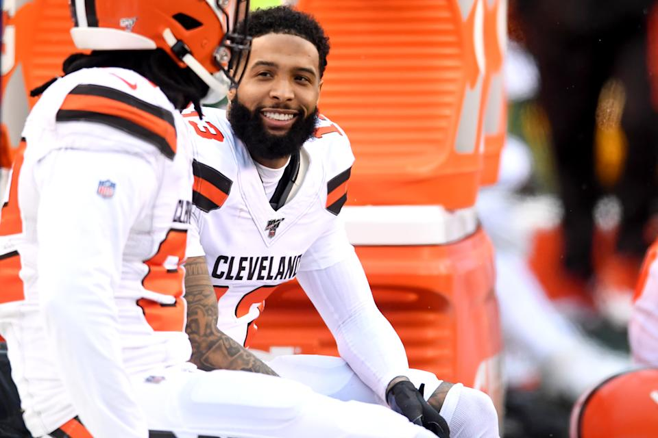 Can receiver Odell Beckham Jr. bounce back now that he's healthy? (Photo by: 2019 Nick Cammett/Diamond Images via Getty Images)