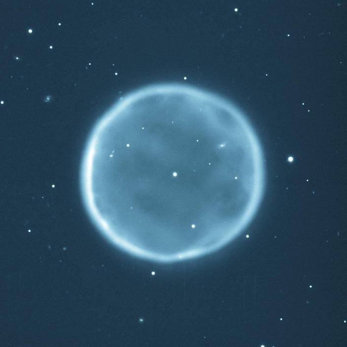 In 10 billion years' time the sun will become a planetary nebula (PA)