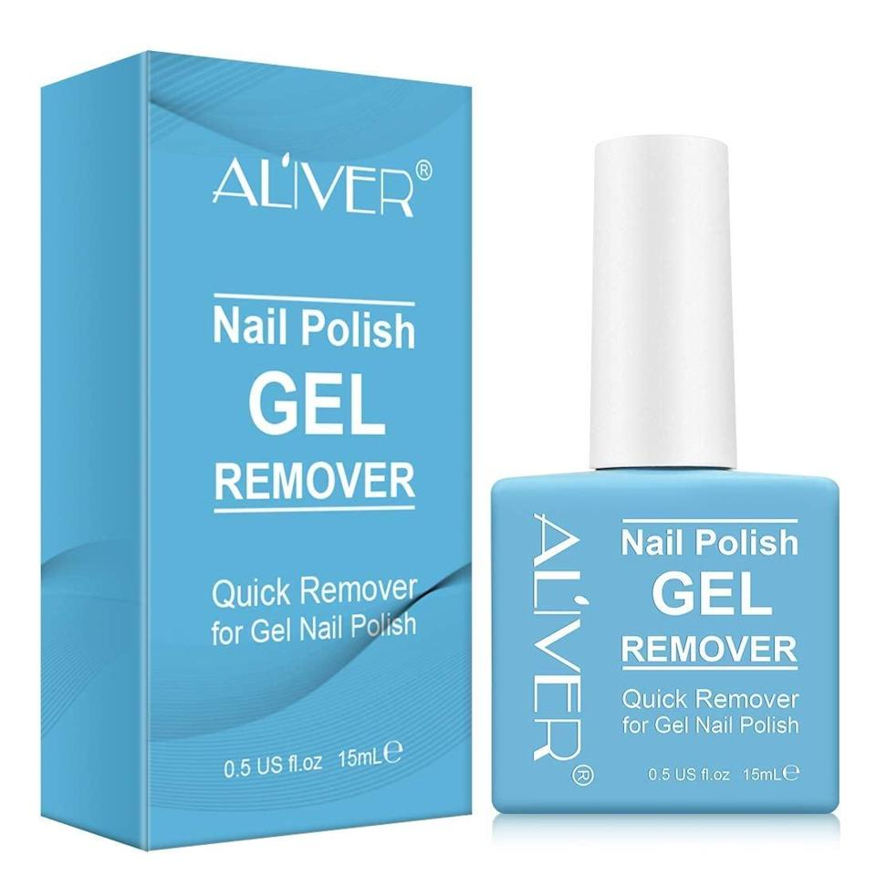 <p>Remove gel polish without hassel with the <span>Aliver Soak-Off Gel Nail Polish Remover</span> ($5, originally $7).</p>