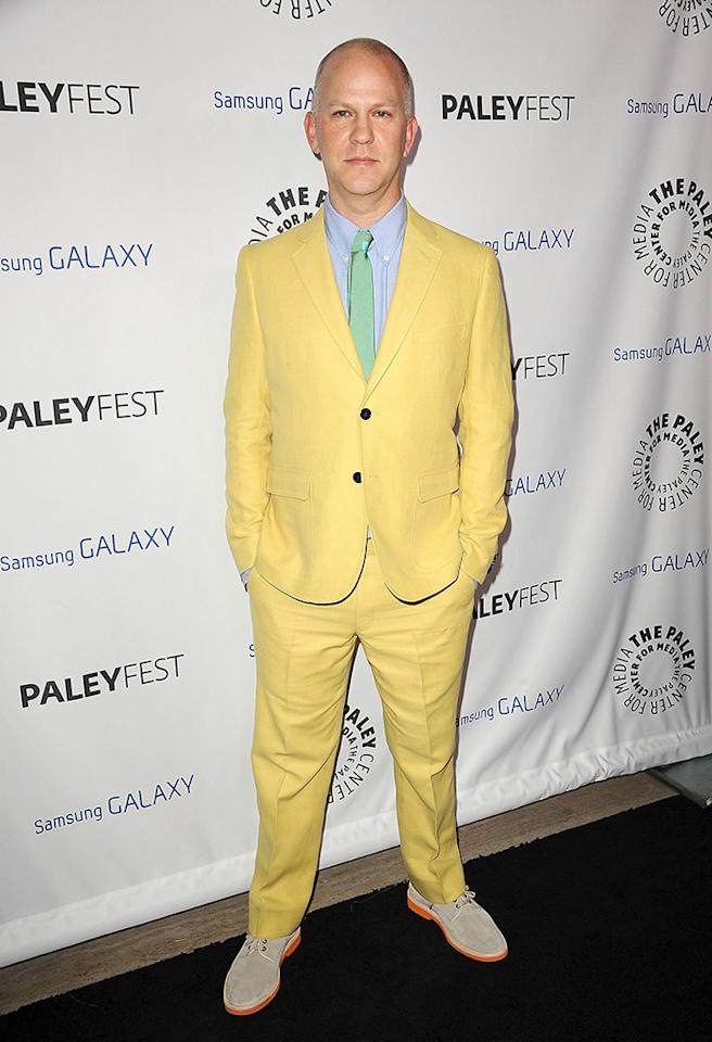 Apparently, Easter came early ... and all over Ryan Murphy at Wednesday night's PaleyFest Icon Award presentation. (2/27/2013)