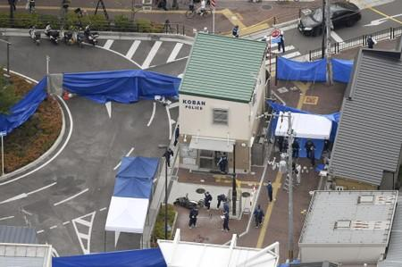 Japanese police officer stabbed in possible targeted attack: NHK