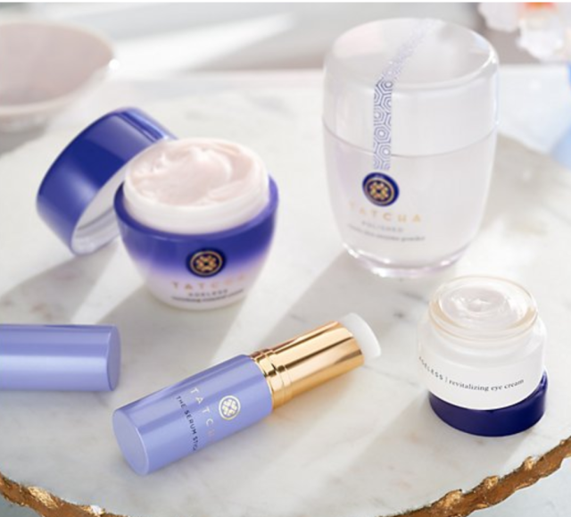 Japanese brand Tatcha is packed with natural, good-for-you ingredients. (Photo: QVC)hoto: QVC)hoto: