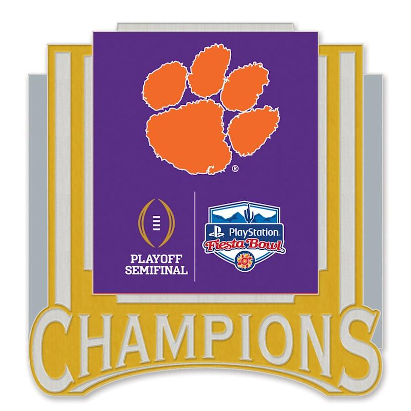 Clemson 2019 Fiesta Bowl Champions Collector Pin