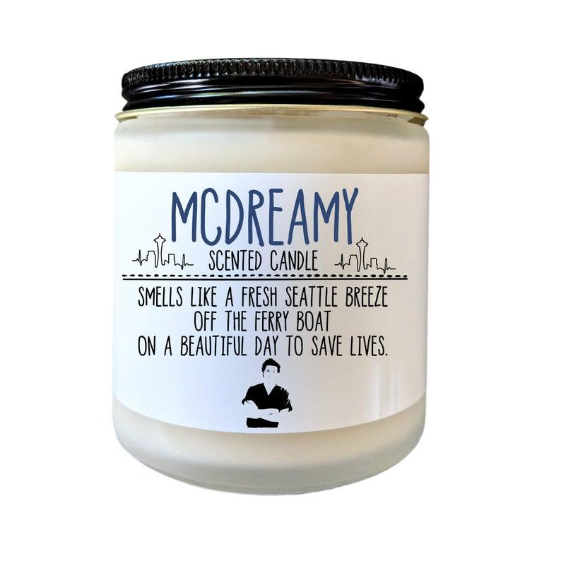 Greys Anatomy Candle McDreamy Scented Candle
