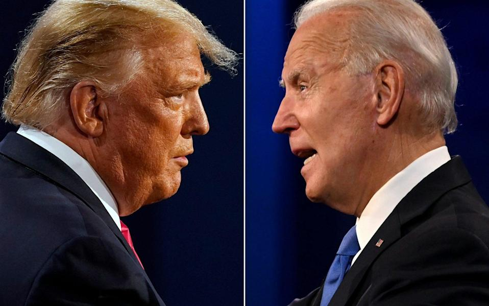 Donald Trump and Joe Biden - Morry Gash/AFP