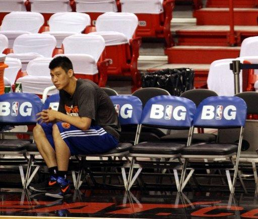 Jeremy Lin's breakout season with the New York Knicks was cut short by injury
