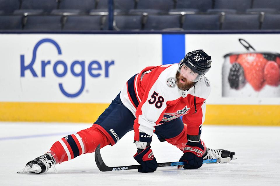 The Tampa Bay Lightning addressed a large area of concern on Saturday, acquiring right-shot blueliner David Savard in a three-way trade. (Getty)
