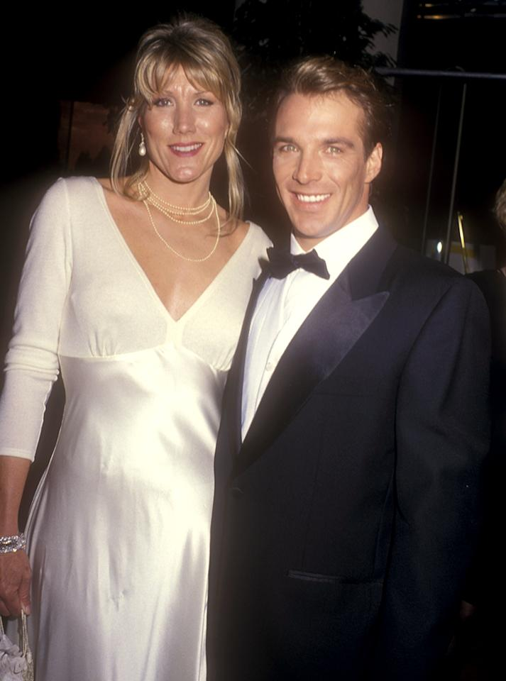 <p>Son of the legendary Clark Gable and his fifth wife, Kay Williams, John was born after his father died and was the first notable Mr. Golden Globe. His sporadic acting career includes such films as 'Bad Jim' (1990) and 'Aliens From Uranus' (2012). (Photo: Barry King/WireImage) </p>