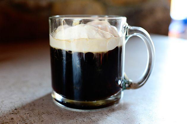 "<p>A warm, boozy coffee drink is just what you need on a cold March day. This cup of joe is spiked with two kinds of Irish liquor: whiskey and Bailey's. Serve it up with a slice of soda bread for a classic Irish treat.</p><p><strong><a href=""https://www.thepioneerwoman.com/food-cooking/recipes/a11458/irish-coffee/"" rel=""nofollow noopener"" target=""_blank"" data-ylk=""slk:Get the recipe."" class=""link rapid-noclick-resp"">Get the recipe. </a></strong></p><p><a class=""link rapid-noclick-resp"" href=""https://go.redirectingat.com?id=74968X1596630&url=https%3A%2F%2Fwww.walmart.com%2Fsearch%2F%3Fquery%3Dpioneer%2Bwoman%2Bmugs&sref=https%3A%2F%2Fwww.thepioneerwoman.com%2Ffood-cooking%2Fmeals-menus%2Fg35325053%2Ftraditional-irish-food-dishes%2F"" rel=""nofollow noopener"" target=""_blank"" data-ylk=""slk:SHOP MUGS"">SHOP MUGS</a></p>"