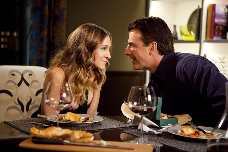 Sarah Jessica Parker and Chris Noth in Sex and the City