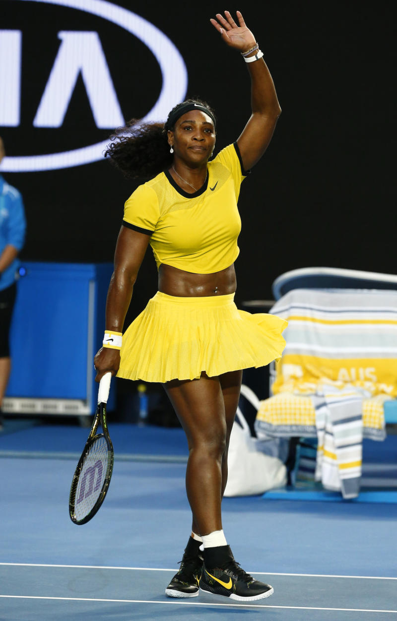f86d8673e72c Serena Williams Haters Bash Her Crop Top and Belly Button Ring